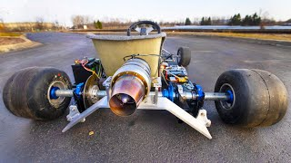 Jet Powered Go Kart