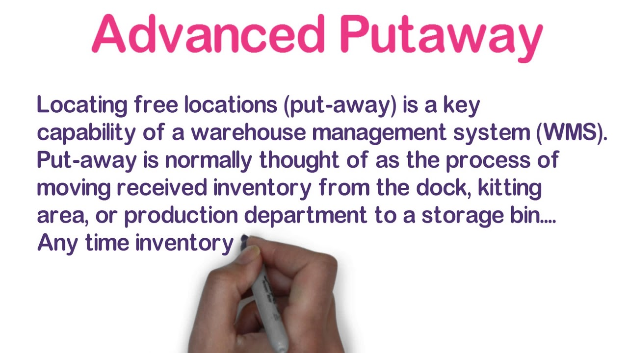 ADempiere Advanced Putaway (Warehouse Management) - Retail Management System