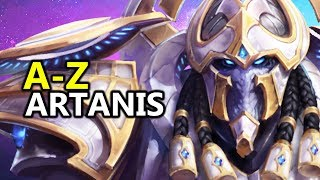 ♥ A - Z Artanis - Heroes of the Storm (HotS Gameplay)