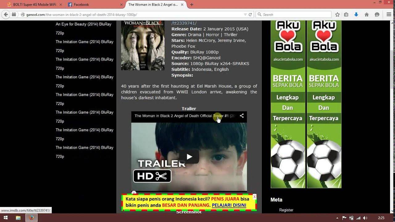 Cara Download Film di Ganool Full Speed