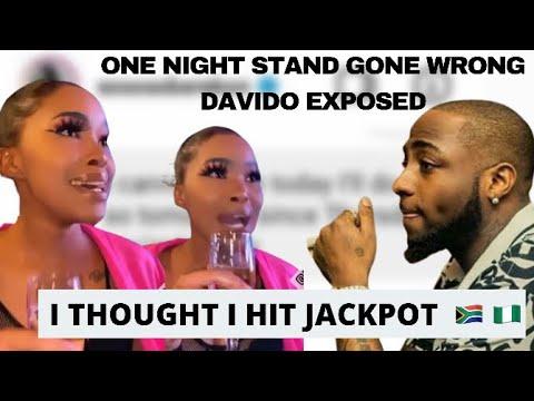 Download Davido exposed by his SA 1 night stand 🇿🇦| No mavuso| all evidence | Nigeria vs SA