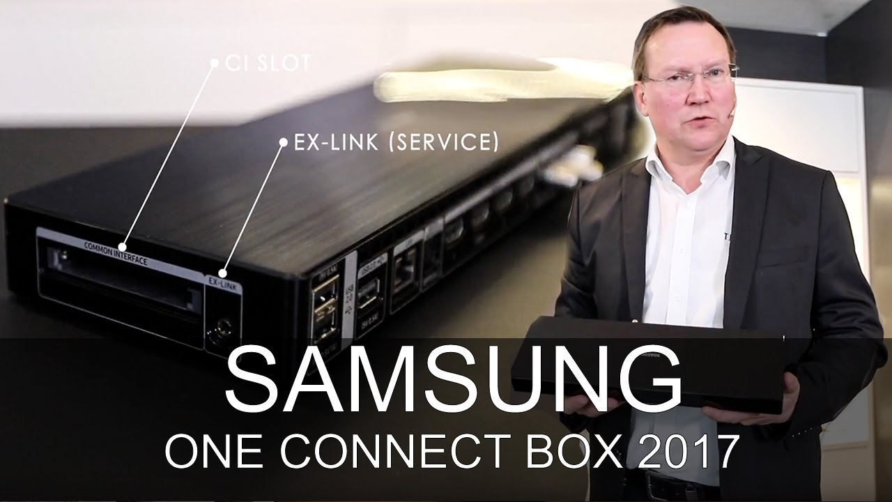 Samsung One Connect Box 2017 - Thomas Electronic Online Shop