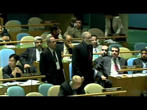 Ahmadinejad's 9/11 Rant Sparks US Walkout From UN