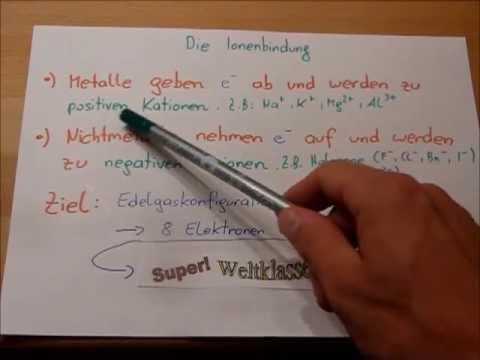 Schulvideo: Ionenbindung am