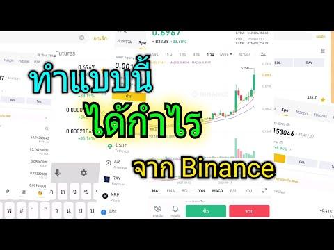 ทำแบบนี้ได้กำไรจาก Binance #ซื้อบิทคอยน์ #ขายบิทคอยน์ #bitcoin