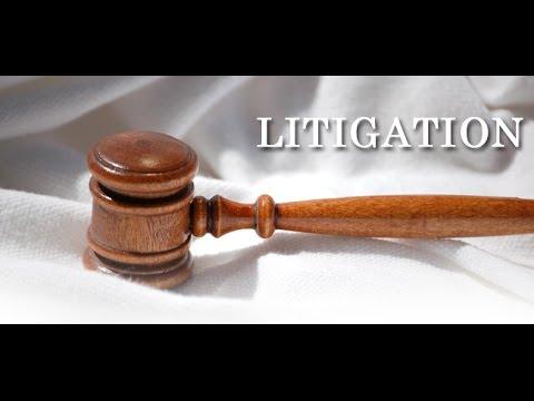 Litigation -- 60 Second Business Tip