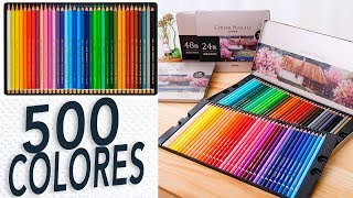 Noticias de Arte ¡500 LAPICES DE COLORES!