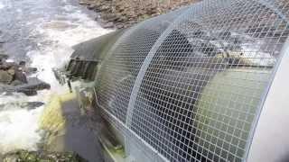 100KW Landustrie Archimedean screw Linton Lock Near York UK