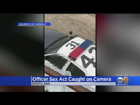 Video Appears To Show Uniformed Santa Ana Officer Engaged In Lewd Act In Patrol Vehicle