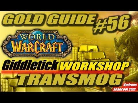 WoW Gold Guide #56: Workshop zum Transmog Business | Interview zu Mindset, Prozessen & Management