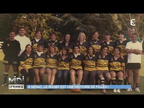 BIEN-VIVRE & BIEN-ÊTRE : À Nérac, le rugby est une histoire de filles !