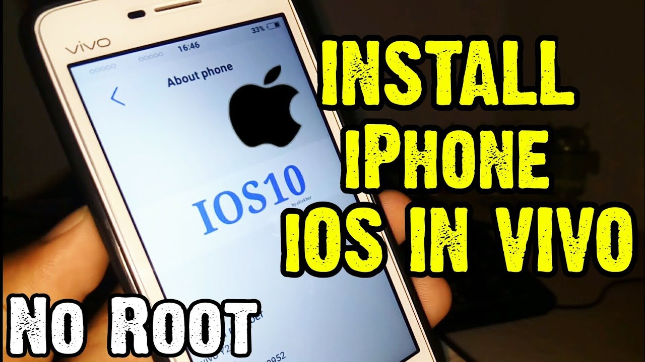 Install iOS System In Any Vivo Phone || Easy No Root