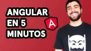 Tutorial de Angular en Español: Primer Proyecto y Fundamentos en 5 Minutos (2018)