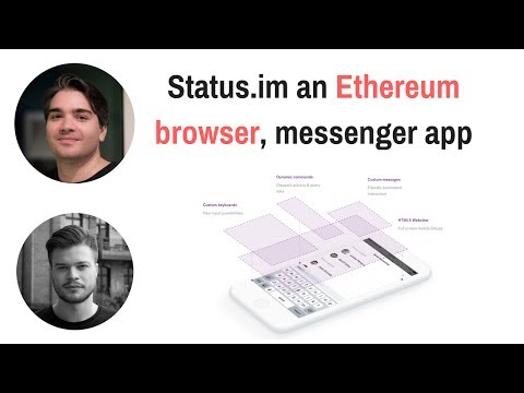 Status.im an Ethereum browser, messenger app (Podcast)
