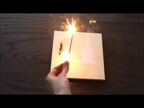 Pyrography Experiment 2: Sparkler Art Fail Pyrography Art by Jannie Lisonbee | Red Roof Barn