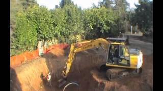 Tony's House - Video 1(clearing The Site And Digging The Basement)