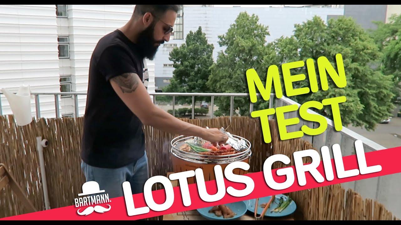 Lotusgrill Rauchfreier Holzkohlegrill Erfahrungen : Grillen mit dem lotusgrill xl bartmann youtube