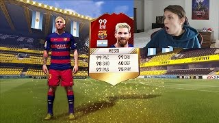 RED MESSI IN A PACK!!! - LUCKIEST FIFA 17 PACK OPENING EVER!!! (Ronaldo, Legend, Pele In A Pack)