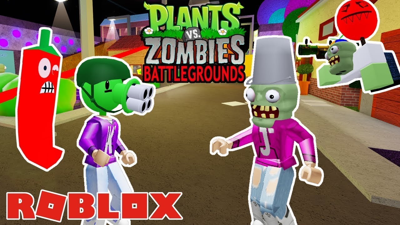 Roblox Versus Zombies Which Side Will Win Plants Vs Zombies Battlegrounds Roblox Youtube