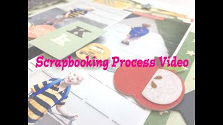 "Scrapbooking Process #223- ""Back to School"" for Learning is and Adventure You Tube Hop"