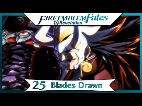 Fire Emblem Fates Revelation - Part 42 | Chapter 25 - Blades Drawn! [English Walkthrough]