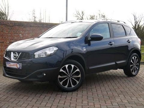 2011 nissan qashqai n tec 110 blue for sale in hampshire youtube. Black Bedroom Furniture Sets. Home Design Ideas