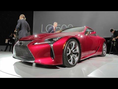 2018 Lexus LC 500 – 2016 Detroit Auto Show