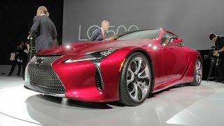 2018 Lexus LC 500 - 2016 Detroit Auto Show