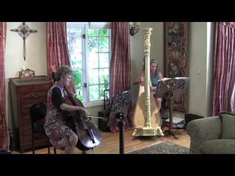 Cello and Harp:  Albinoni Adagio in G minor