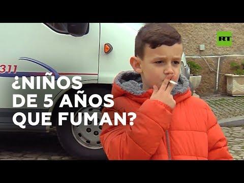 Los niños vuelven a fumar en Portugal