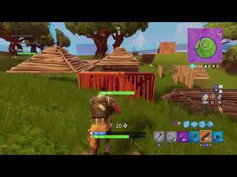 My wife's first Fortnite win...