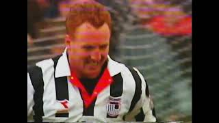 Grimsby Town 3 - 1 Sunderland Highlights - 19/03/95