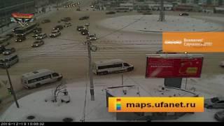 Обзор ДТП с камер maps.ufanet.ru, декабрь, 2016 г.