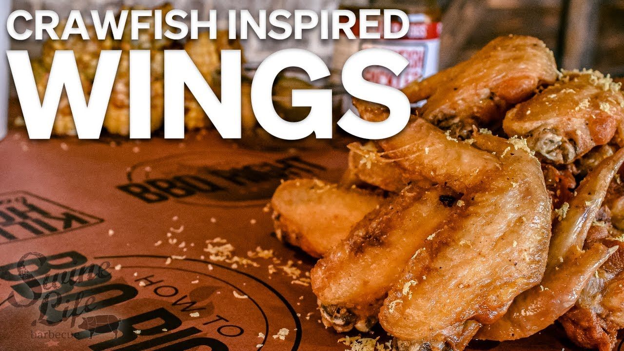 Crawfish Inspired Deep-Fried Wings