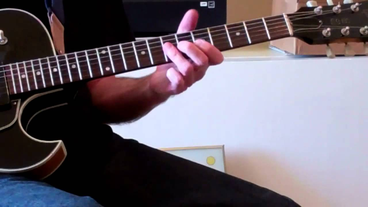 Easy Blues Guitar Boogie Chord Progression 2nd Guitar Part Youtube