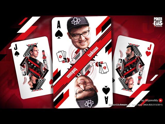 TONKAAAA in Poker In The Ears Podcast! ♠️ Pokerstars