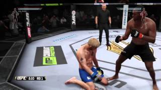 EA SPORTS UFC SPINNING BIRD KICK