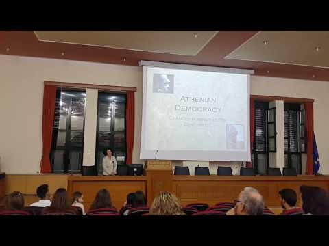 Eleni Volonaki -Athenian Democracy (1)