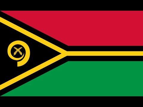 Флаг Вануату.