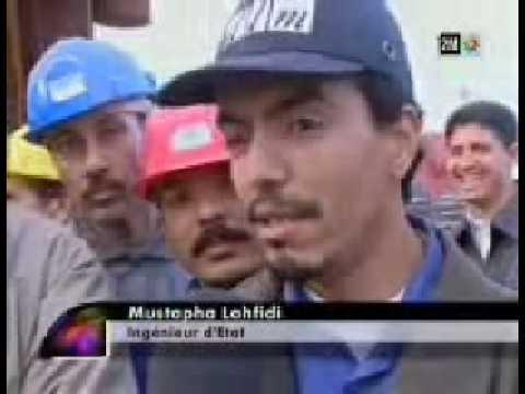 Première Plateforme pétrolière Made in Morocco Delattre Levivier Maroc