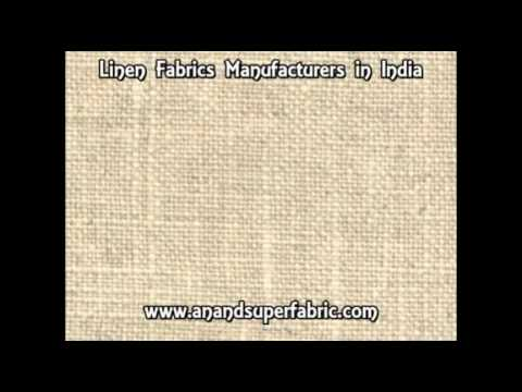linen fabrics manufacturers India