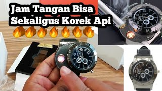 Download Video UNIK - Unboxing dan Review Jam Tangan Sekaligus Korek Api MP3 3GP MP4