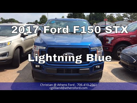 2018 Ford F150 STX - Lightning Blue - Exterior Walkaround - FIRST LOOK!