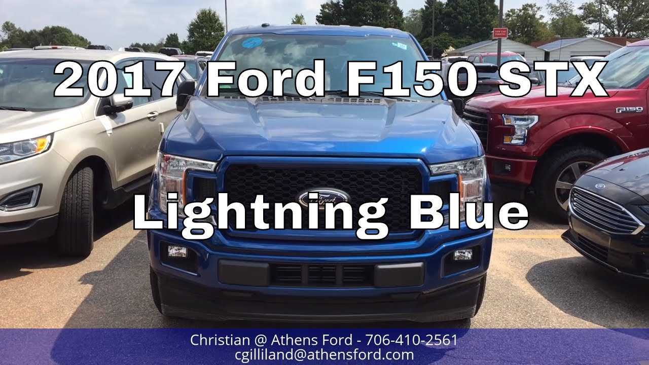 2018 Ford Lightning >> 2018 Ford F150 STX - Lightning Blue - Exterior Walkaround ...