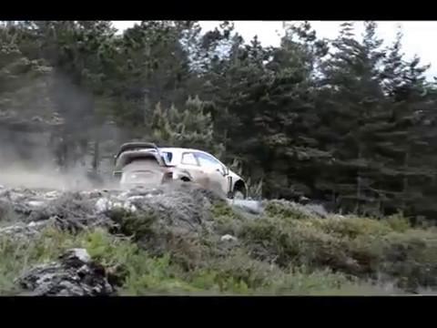WRC Toyota Yaris 2017 Test Serra da Gouvães Portugal