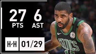 Kyrie Irving Full Highlights Celtics Vs Nuggets (2018.01.29) - 27 Points, 6 Ast | 2017-18 Season