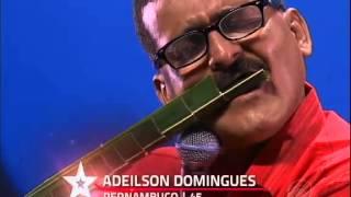 Adeilson Domingues, Palhas de Coqueiro / Saxofone - GOT TALENT BRASIL 2013