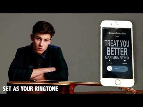 Shawn Mendes Treat you Better Marimba Remix Ringtone