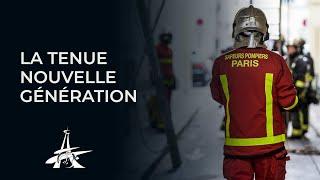 La nouvelle tenue de feu des pompiers de Paris.