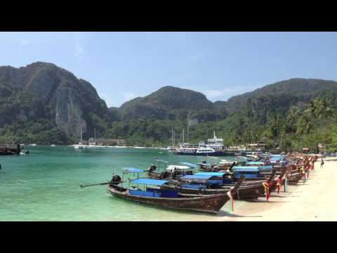 Ko Phi Phi  amp  Railey  Thailand - 4K Ultra HD Poster